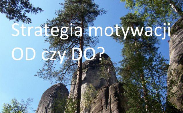 Strategia motywacji – OD czy DO?