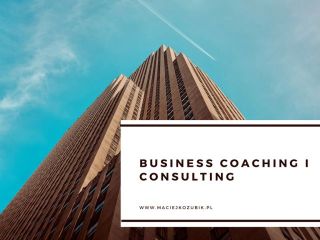 Business coaching i consulting