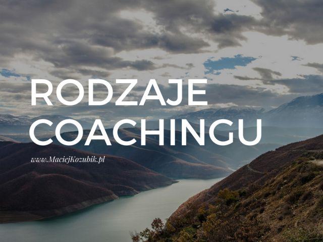 Rodzaje coachingu