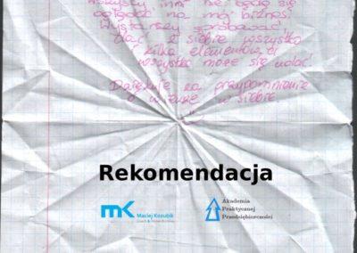 Akademia-Praktycznej-przedsibiorczoci_rekomendacja-Maciej-Kozubik-coach_trener-biznesu