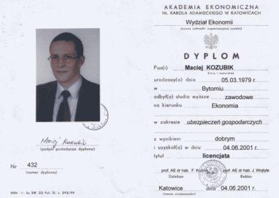 Dyplom-licencjata-Maciej-Kozubik_coach_trener-biznesu_trener-sprzedaży