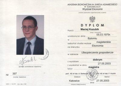 Dyplom-magistra-Maciej-Kozubik_coach_trener-biznesu_trener-sprzedaży