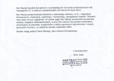 Maciej-Kozubik-coach-i-trener-biznesu-referencje-ARETECH-723x1024