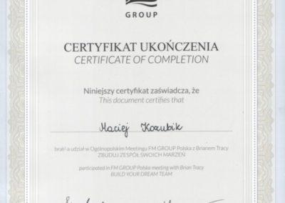 Maciej-Kozubik_FM-Group-Brian-Tracy_Zbuduj-zesp-marze_coach_trener-biznesu_trener-sprzedaży