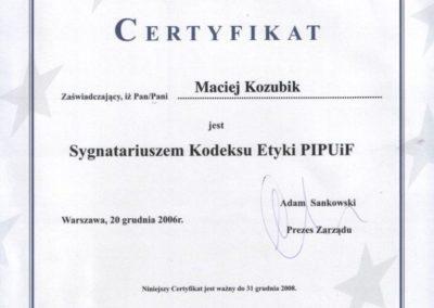 Sygnatariusz-kodeksu-etyki-PIPUiF-Maciej-Kozubik_coach_trener-biznesu_trener-sprzedaży-739x1024