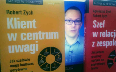Rekomendacja dwóch książek Roberta Zycha