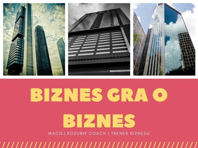Biznes gra o biznes