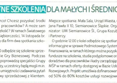 Gra pytań Urząd Miasta Siemianowice Śląskie 14-11-2017