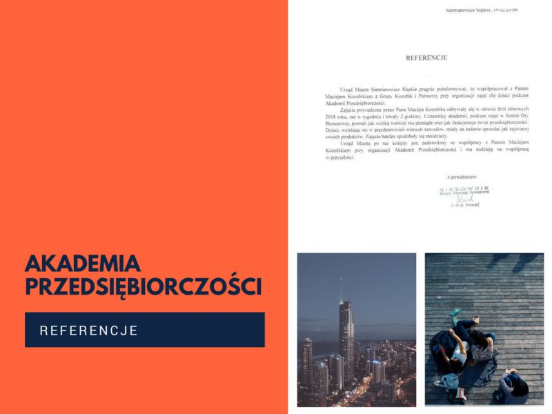 Akademia Przedsiębiorczości zima 2018 – referencje