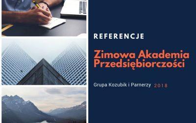 Zimowa Akademia Przedsiębiorczości – referencje