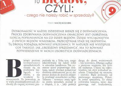 10 błędów czyli czego nie należy robić w sprzedaży_Maciej Kozubik_coach_trener biznesu_1