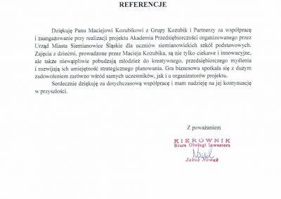 Maciej Kozubik_Grupa Kozubik i Partnerzy_Akademia Przedsiębiorczości 2018