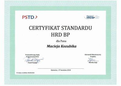 standard HRD BP Maciej Kozubik