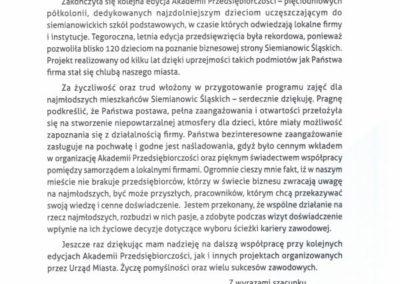 Grupa Kozubik i Partnerzy - Akademia Przedsiębiorczości 2019